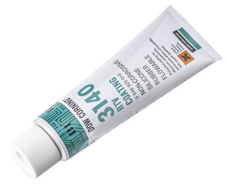 Dow Corning DOW CORNING(R) 3140RTV SEALANT White Silicone Sealant Liquid 90  ml Tube