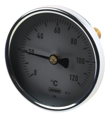 Dial Thermometer, Centigrade Scale, 0 → +120 °C Immersion