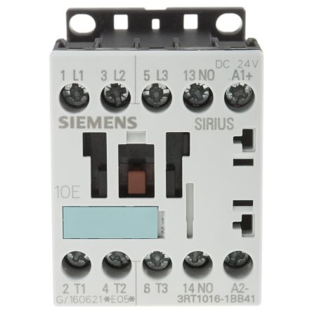 3rt10161bb41 siemens sirius classic 3rt1 3 pole contactor 3no 9 main product freerunsca Gallery