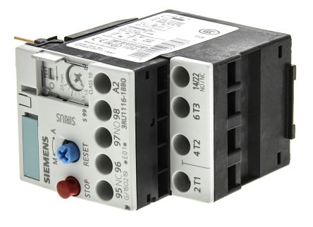 Siemens Overload Relay - NO/NC, 1.4 → 2 A, 2 A, 0.75 kW, 3P