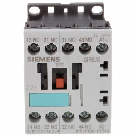 3rh11221bb40 siemens sirius classic 3rh1 4 pole contactor 2no 2nc rh uk rs online com 3Ra Siemens Sirius siemens sirius 32 manual