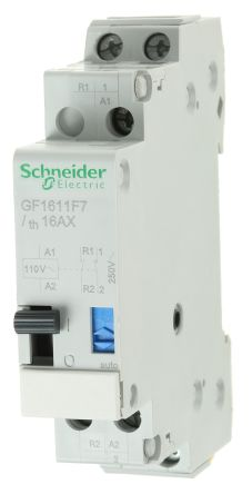 2P Impulse Relay with NONC Contacts 16 A 110 V ac 48 V dc Coil