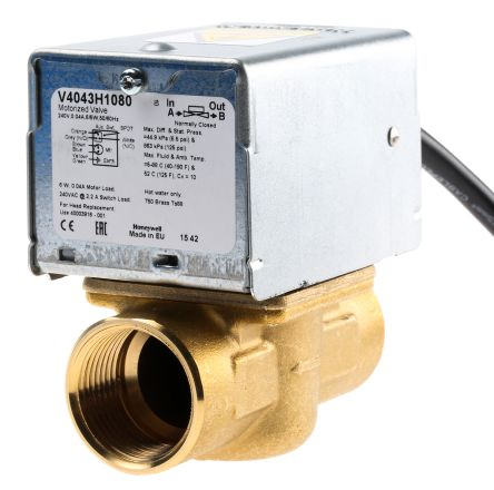 V4043H1080 | Honeywell Motorised & Actuated Valve 2 Way 230 V ac ...