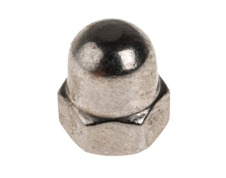M5 A4 316 Plain Stainless Steel Dome Nut
