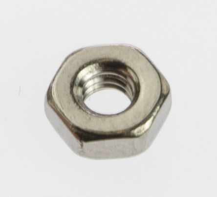 RS PRO Stainless Steel, Hex Nut, M2 5
