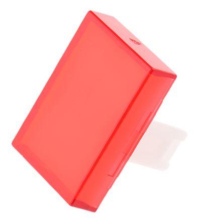 Red rectangular lens for EAO 31 series