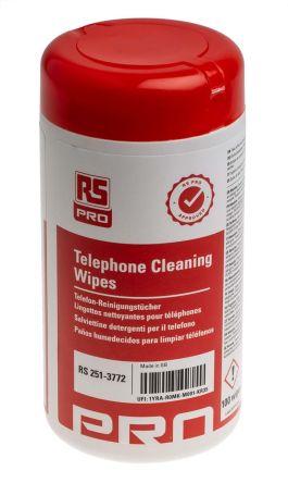 Telephone Wipes, Tub of 100 product photo