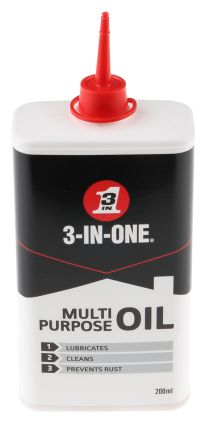 3-in-one 200 ml Can Oil for Multi-purpose, Rust Protection Use