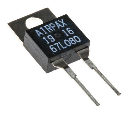 AIRPAX thermique 67l080-Commutateur n // c 80 ° c