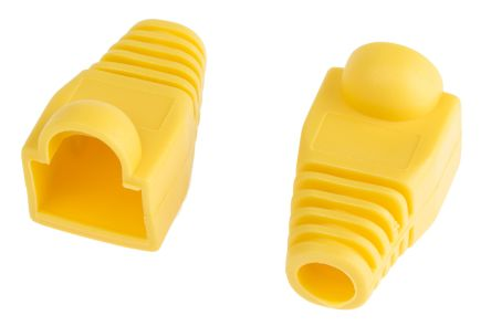 RS PRO RJ45 RJ Connector Colour Sleeve, Yellow
