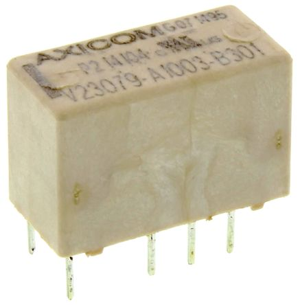 12 VDC SMD Signal Relay P2//V23079 Series 2 A Non Latching DPDT