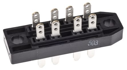 TE Connectivity 1393726-1, , DIN 41622 Connector, Male, 8-Way, RP622 Series
