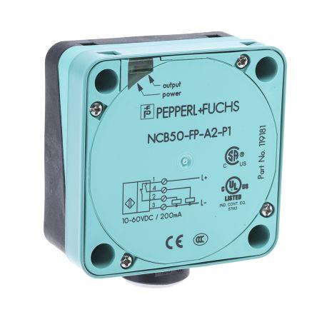 Pepperl + Fuchs PNP Inductive Sensor 84mm Length, 10 → 60 V dc supply voltage , IP68 Rating