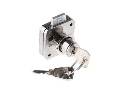 Chrome Plated Slam Lock Key To Unlock 5836002 Rs