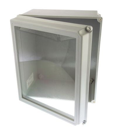 nVent-Schroff Glass Reinforced Plastic Wall Box IP66, 219mm x 370 mm x 319 mm product photo