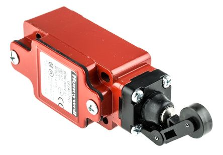 GSAC21D   GSS Safety Switch With Roller Lever Actuator, Metal, 2NC ...