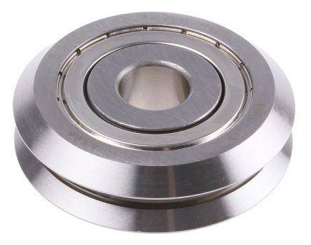 SAE 52100 steel V guide wheel,59.94mm