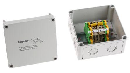 Raychem Trace Heating Junction Box 75mm x 130mm x 130 mm, -35 → +115 °C