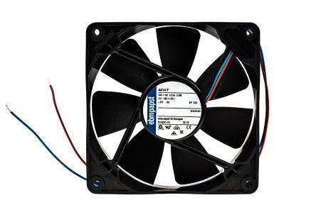 ebm-papst 4400 Series Axial Fan, 119 x 119 x 25mm, 170m³/h, 5W, 24 V dc