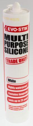 483439 White Silicone Sealant Paste 310 ml Cartridge product photo