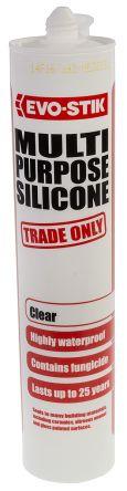 483422 Transparent Silicone Sealant Paste 310 ml Cartridge product photo