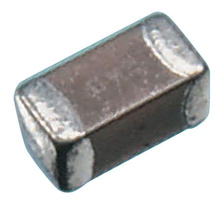 KEMET 0603 (1608M) 10nF Multilayer Ceramic Capacitor MLCC 50V dc ±10% SMD C0603C103K5RACTU