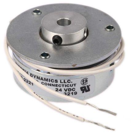 Flange mount electromagnet brake,0.339Nm