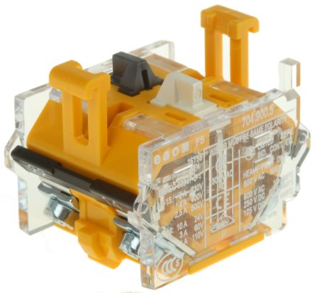Momentary Action Contact Unit for use with 04 Series