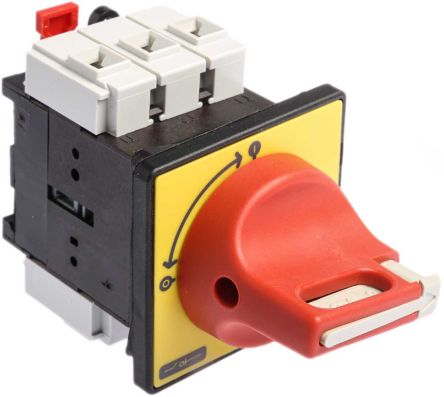 Vcf0 3 Pole Panel Mount Non Fused Isolator Switch 25 A
