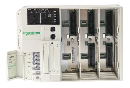 Schneider Electric TSX 37 PLCs 3 Slots, Panel Mount Mount 151 x 341.4 x 152 mm