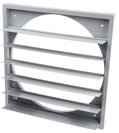 Backdraught shutter for axial fan 315mm