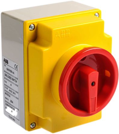 Enjoyable S47K5N A 4 Pole Non Fused Isolator Switch 20 A 7 5 Kw Ip65 Rs Wiring Database Lotapmagn4X4Andersnl