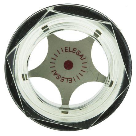 Elesa-Clayton Hydraulic Plug Level Indicator 13741, G 1 1 in