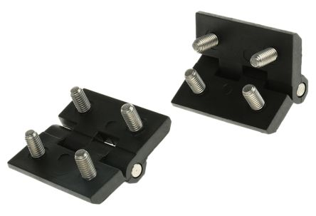 PC Pin Hinge Bolt-on, 50mm x 50mm x 6mm product photo
