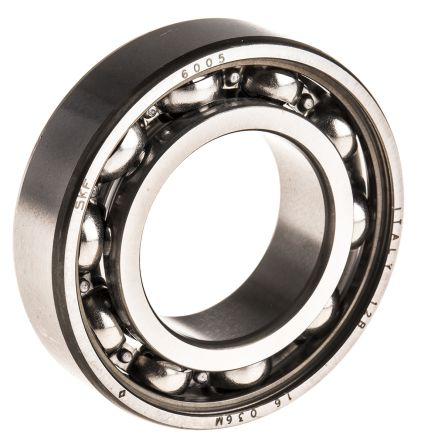 Stainless Steel 47mm x 25mm x 12mm Sealed Deep Groove Ball Bearing