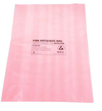 Antistatic Pink Bag 254x356mm