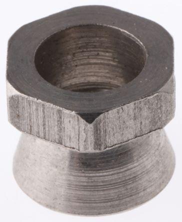 18Nm Plain Stainless Steel Shear Nut, M8