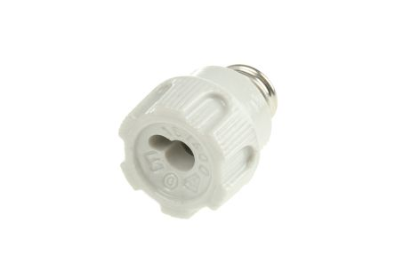 ETI 16A 1 Pole D01 Bottle Fuse Holder Screw Cap, 400V ac