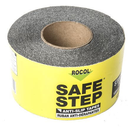 Rocol Black Anti-Slip Tape - 18.25m x 100mm