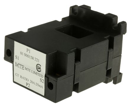 Current transformer,20A 25mA secondary