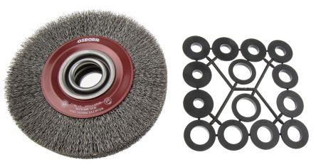 RS PRO Steel Abrasive Circular Brush, 6000rpm, 178mm Diameter