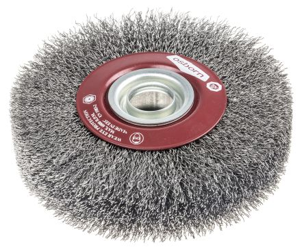 RS PRO Steel Abrasive Circular Brush, 6000rpm, 125mm Diameter