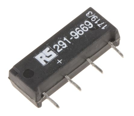 SPNO reed relay,1A 5Vdc coil