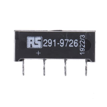 SPNO reed relay,1A 24Vdc coil
