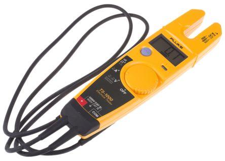 Fluke T5 Handheld Electrical Tester, 100A ac 1000V ac 1000V dc