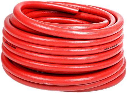 RS PRO 15 bar 30m Long PVC, Rubber Fire Hose
