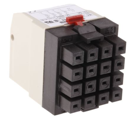 Rhn411b Schneider Electric 24v Ac Coil Non Latching Relay 4pdt 5a Switching Current Rs Components