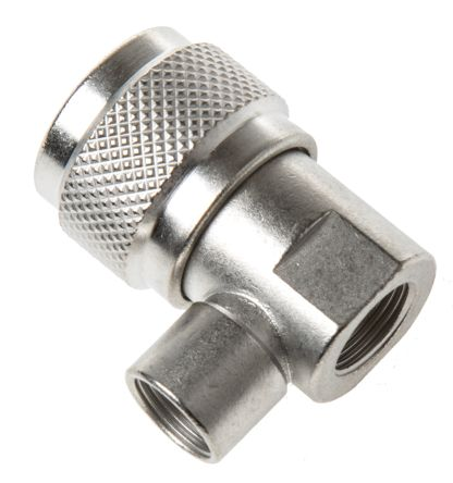 50O Right Angle Cable Mount N Type Connector, Plug, Clamp Termination, 0 -> 11GHz product photo
