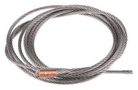 Sistema di sospensione con cavo in acciaio inox rs pro liscio