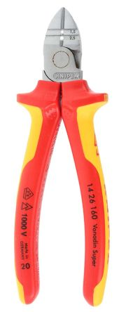 Knipex Wire Cutters | 14 26 160 Knipex Knipex Diagonal Type Wire Cutter 160mm Overall
